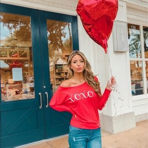 OTS XOXO Red Top